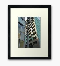 Tokyo Streetscape Framed Print