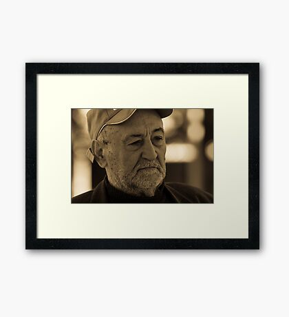 The Chess Player Framed Print