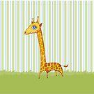 Baby Giraffe by Mariana Musa