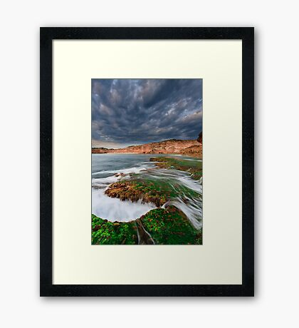 The Wildest Stretch Framed Print