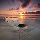 Sunrise at the Beach by Stephen Gregory