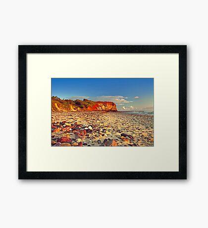 Sunrise at Red Cliff Framed Print