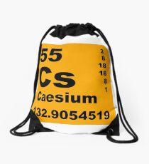 Caesium Periodic Table of Elements Drawstring Bag