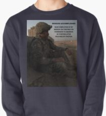Mission Accomplished Pullover Sweatshirt