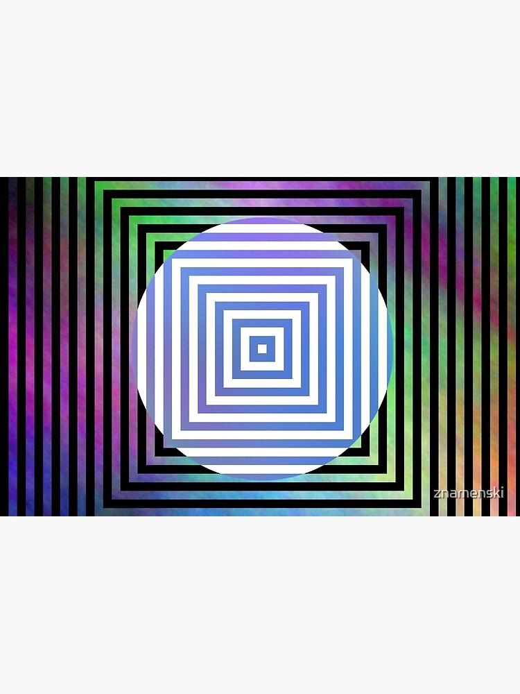 #Illusion, #pattern, #vortex, #hypnosis, abstract, design, twist, art, illustration, psychedelic by znamenski