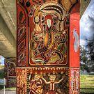 Cowra Painted Pylon 2 by Jason Ruth