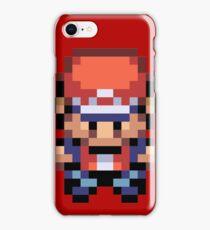 Red Overworld Sprite iPhone Case/Skin
