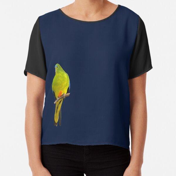 Orange-bellied Parrot 2 Chiffon Top