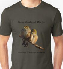 Silvereye T-Shirt - New Zealand Bird Series Unisex T-Shirt