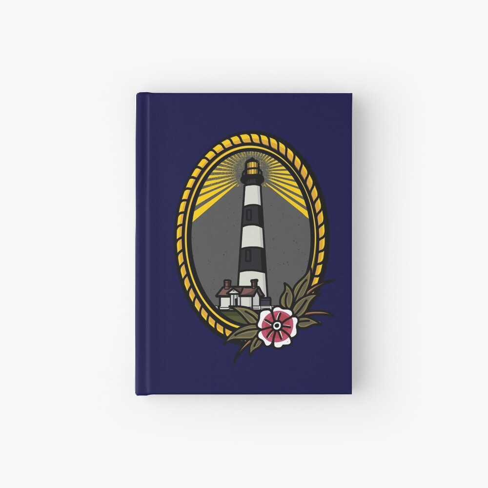 Lighthouse Series: Bodie Island Hardcover Journal