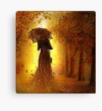 be my autumn ||  Canvas Print