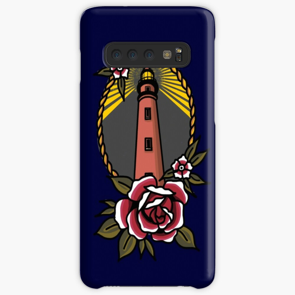 Lighthouse Series: Ponce de Leon Inlet Light Case & Skin for Samsung Galaxy