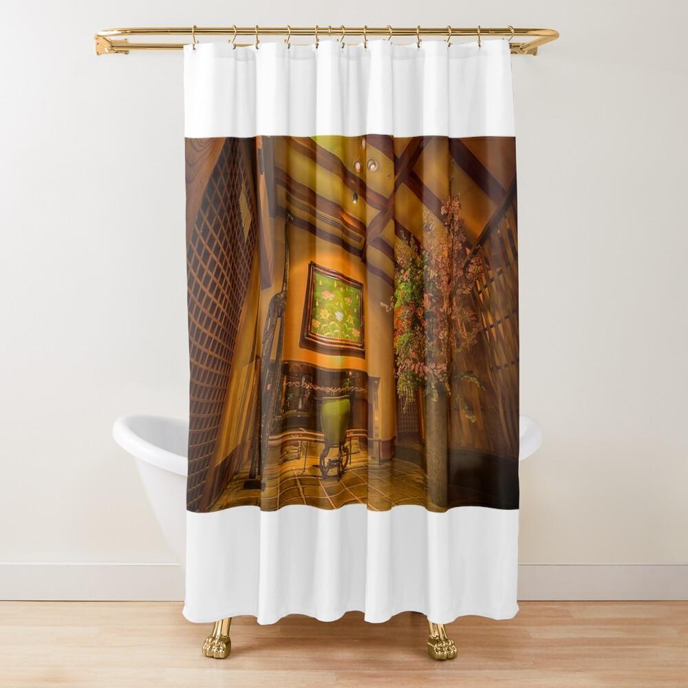 Ryokan Hakone Ginyu, hall Shower Curtain