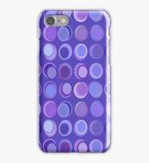 Shades of Purple Ovals - Abstract iPhone Case/Skin