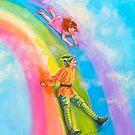 SLIDING DOWN THE RAINBOW by Judy Mastrangelo