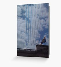 Royal Flypast Greeting Card