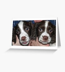 Terrible Twins Greeting Card