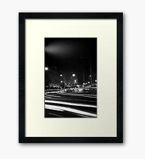"""Melbourne - """"Streetscape"""" #3 Framed Print"""