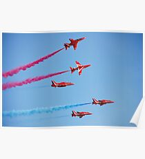 RAF The Red Arrows Poster