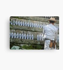 Cleaning the Shrine Metal Print