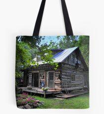 Cabin in the Cove Tote Bag