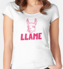 Llame Women's Fitted Scoop T-Shirt