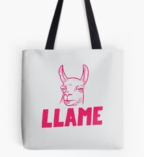 Llame Tote Bag
