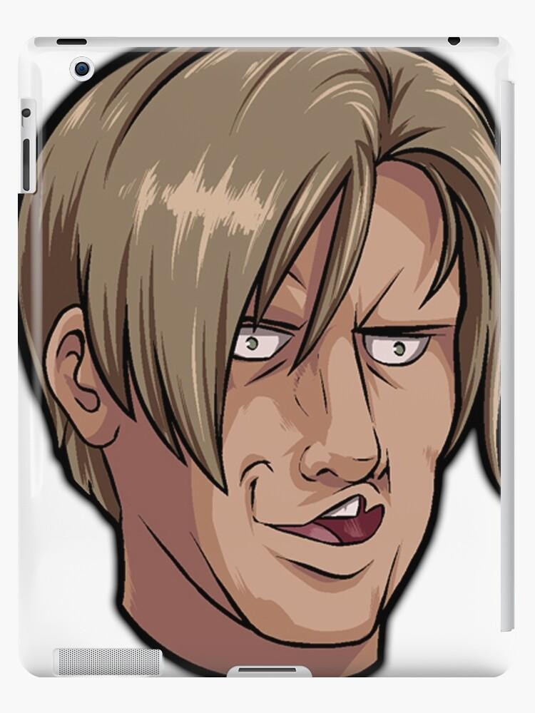 No Way Leon Kennedy Meme Resident Evil 4 Ipad Case Skin By