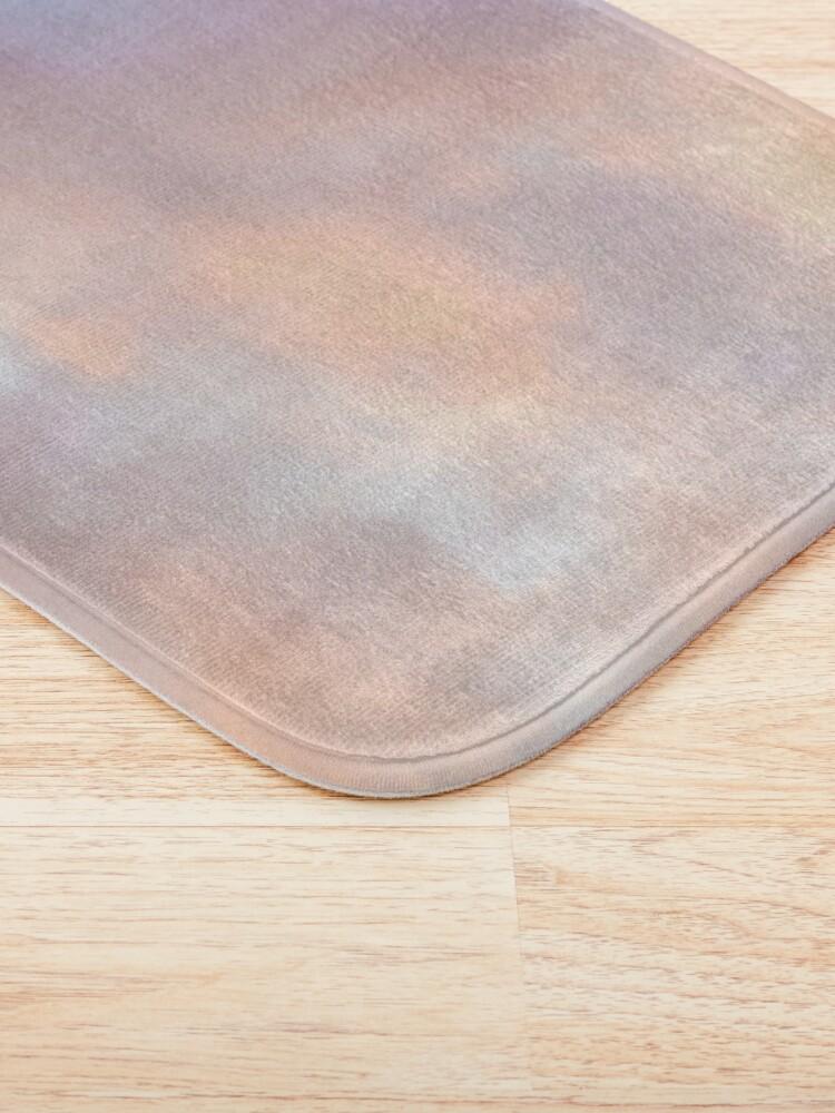 Alternate view of Pink sky Bath Mat