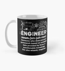 Engineer Humor Definition Classic Mug