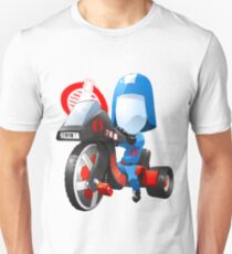 Cobra Commander on 80's big wheel T-Shirt
