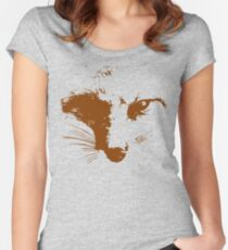 Vector Fox Women's Fitted Scoop T-Shirt