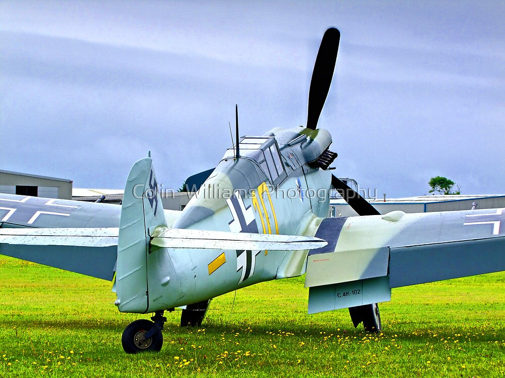ME 109 Bouchon - Shoreham Airshow 2010 by Colin  Williams Photography