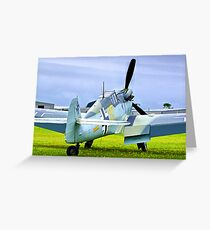 ME 109 Bouchon - Shoreham Airshow 2010 Greeting Card