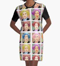 Pussy Pop - Nine Lives Graphic T-Shirt Dress