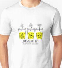 Realist cup geek funny nerd Unisex T-Shirt