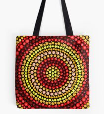 Earthy tones Mandala pattern Tote Bag
