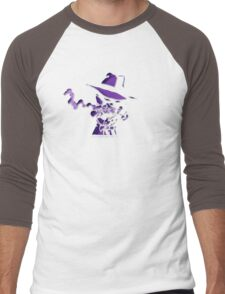 Purple Tracer Bullet Men's Baseball ¾ T-Shirt