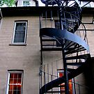 spiral staircase by Leeanne Middleton