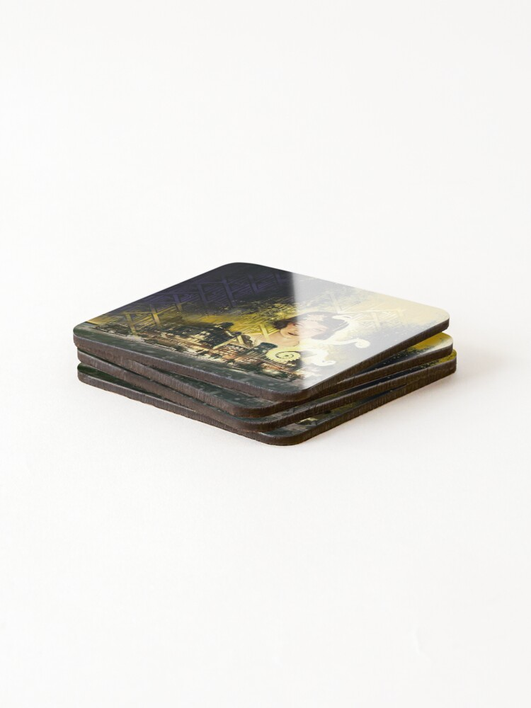 Alternate view of Berlin: The Wicked City cover art by Loïc Muzy Coasters (Set of 4)