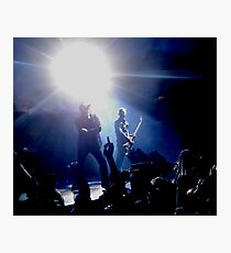 U2 360 Tour - Bono & Adam Clayton Photographic Print