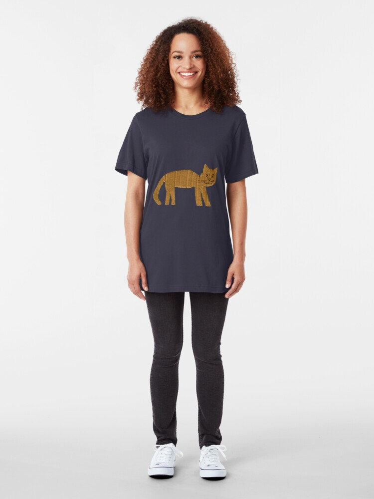 Alternate view of Cat Slim Fit T-Shirt