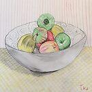 Bowl  of Apples by Tara Barney