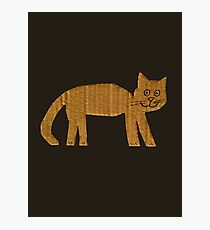 Simple cat Photographic Print