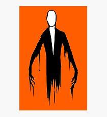 Slenderman slender man creepypasta geek funny nerd Photographic Print