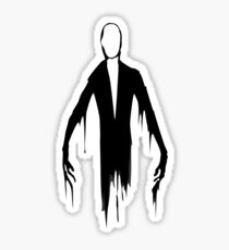 Slenderman slender man creepypasta geek funny nerd Sticker