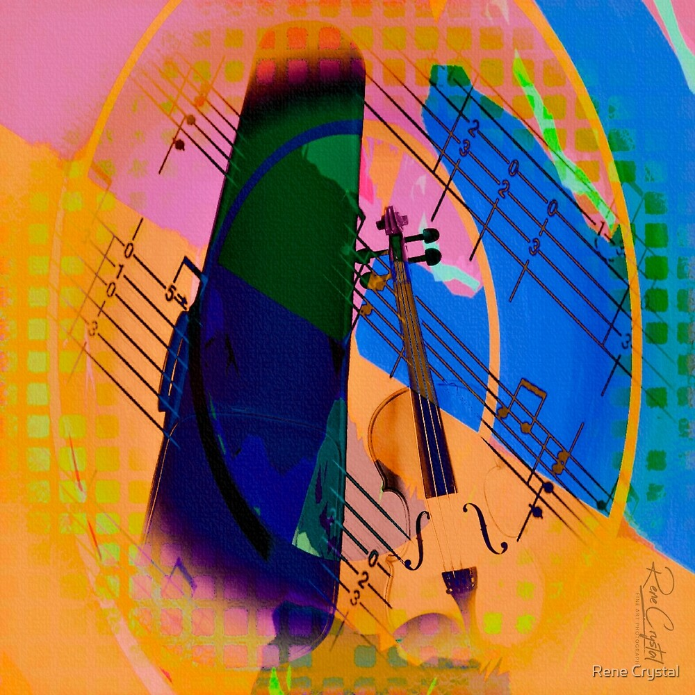 Color Meets Classical by Rene Crystal