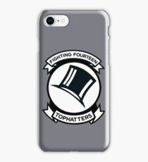 Tophatters - VF-14 iPhone Case/Skin