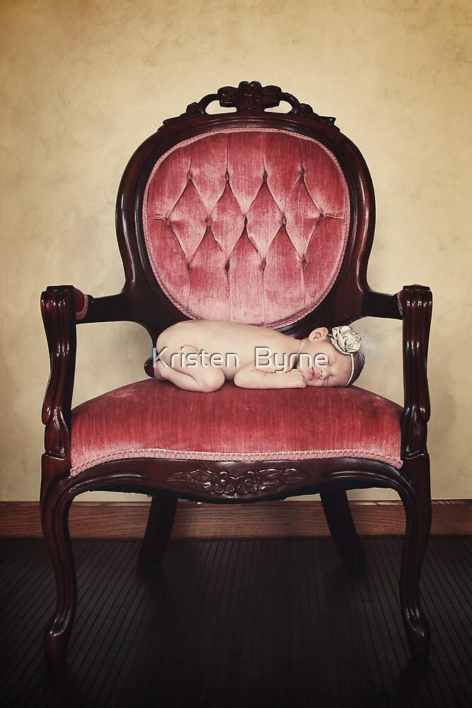 the bargain chair.... by Kristen  Byrne