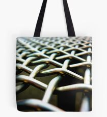 chain-link Tote Bag